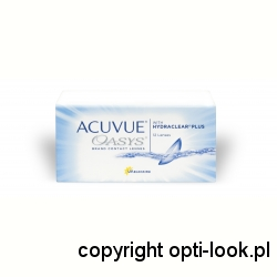 ACUVUE OASYS ® WITH HYDRACLEAR PLUS ® - 6 SZTUK, ZS